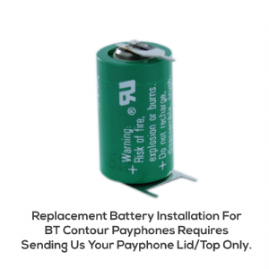 BT Contour Payphone Battery Replacement